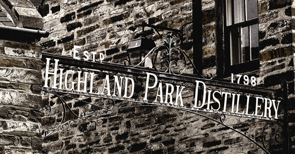 Highland Park Whisky Destillerie