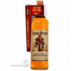 Captain Morgan - Original Spiced Gold Rum / 3 Liter