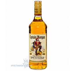 Captain Morgan - Original Spiced Gold Rum / 0,7 Liter